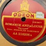 Sarasate Romance Andalouse
