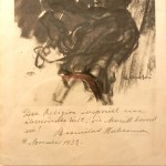 1932 signed drawing