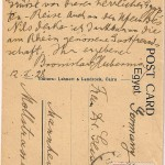 1928 signed postcard