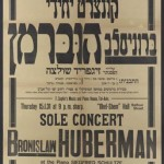 1931 concert flyer