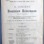 1896 concert program