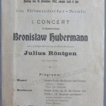 1902 concert program