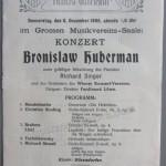 1906 concert program