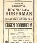 1934 concert program