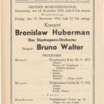 1935 concert program