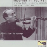 Brahms/Bach/Shubert recital